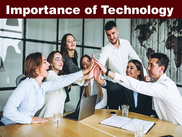 Importance of technology
